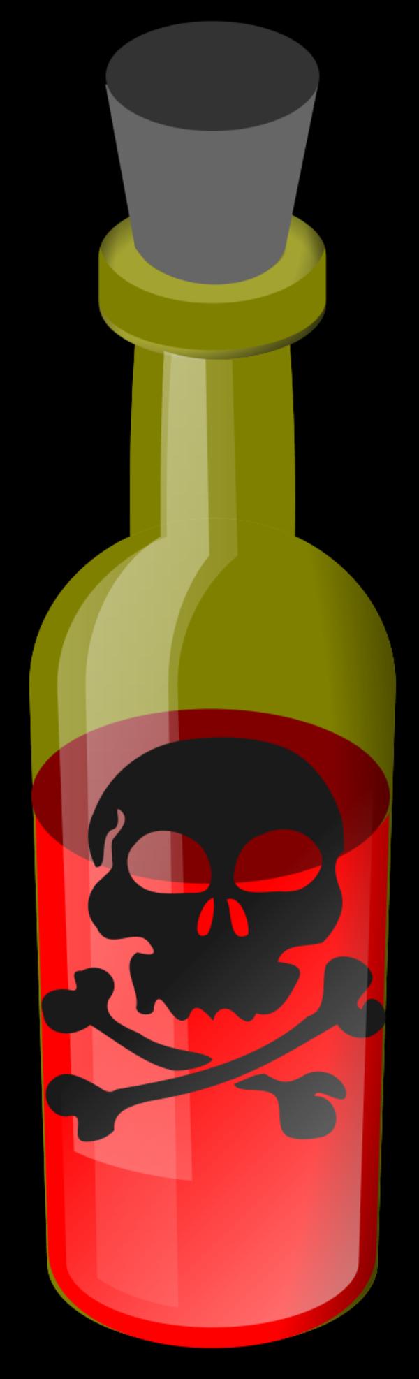 Poison Bottle Clipart.
