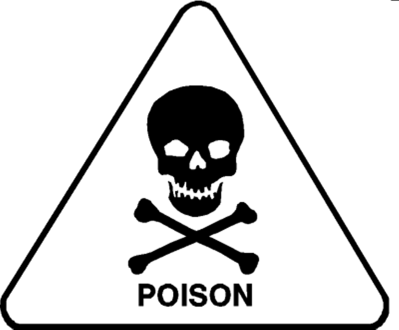 Poison Clip Art.