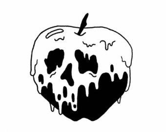 Poison apple clipart 1 » Clipart Station.