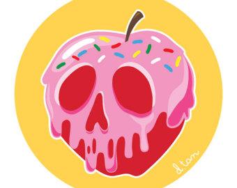 Poison apple clipart 5 » Clipart Station.