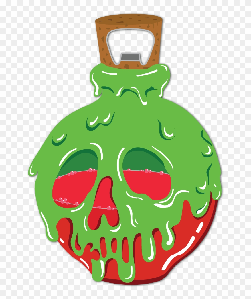 Poison Apple Bottle Opener.