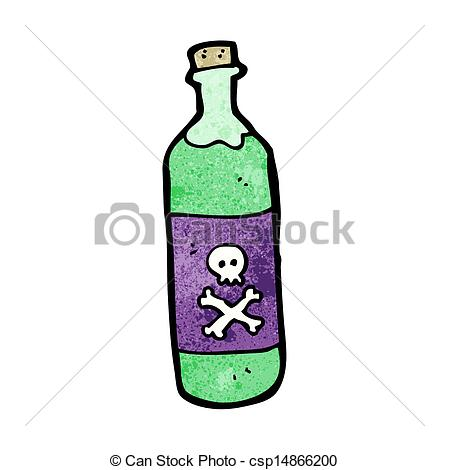 Clipart poison bottle.