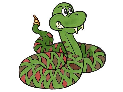 Snake Fang Clipart.