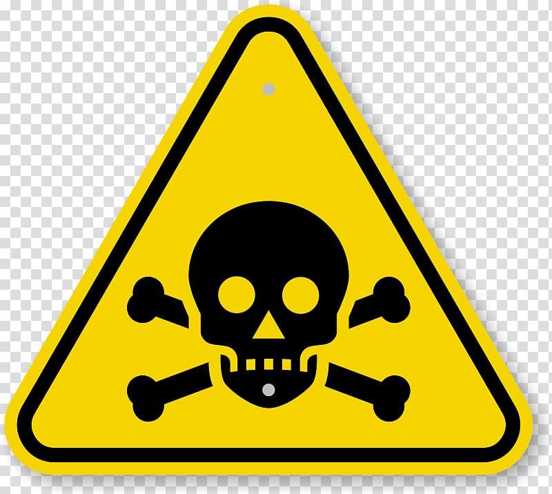 Pirate signage illustration, Poison Toxicity Warning sign.
