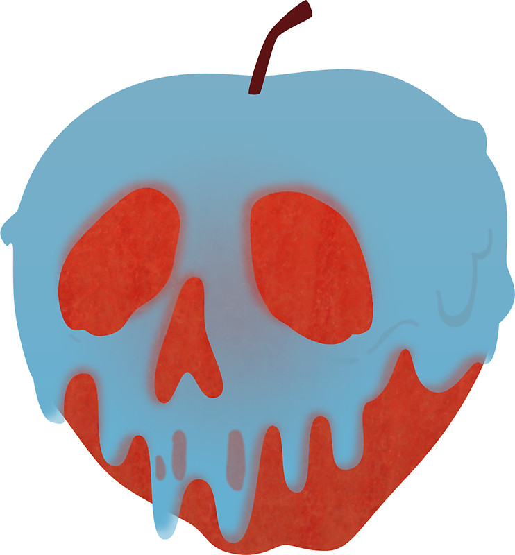"Poison Apple"" Stickers by rebeccaariel."
