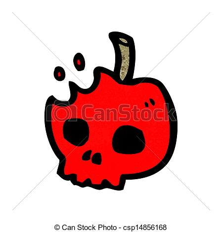 Poison apple Vector Clipart Royalty Free. 117 Poison apple clip.
