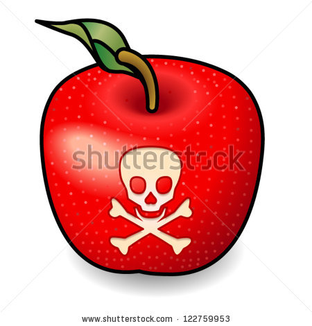 Poison Apple Stock Photos, Royalty.