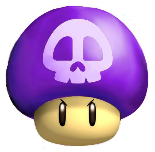 Mario Mushroom Clipart No Background.
