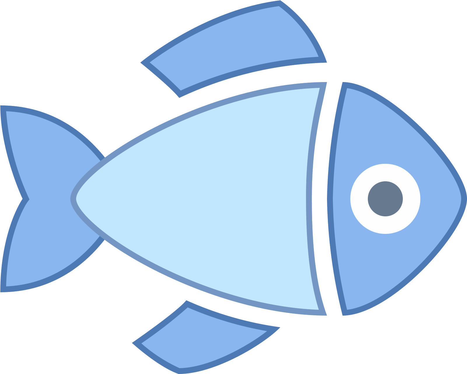 Dressed Fish Icon.
