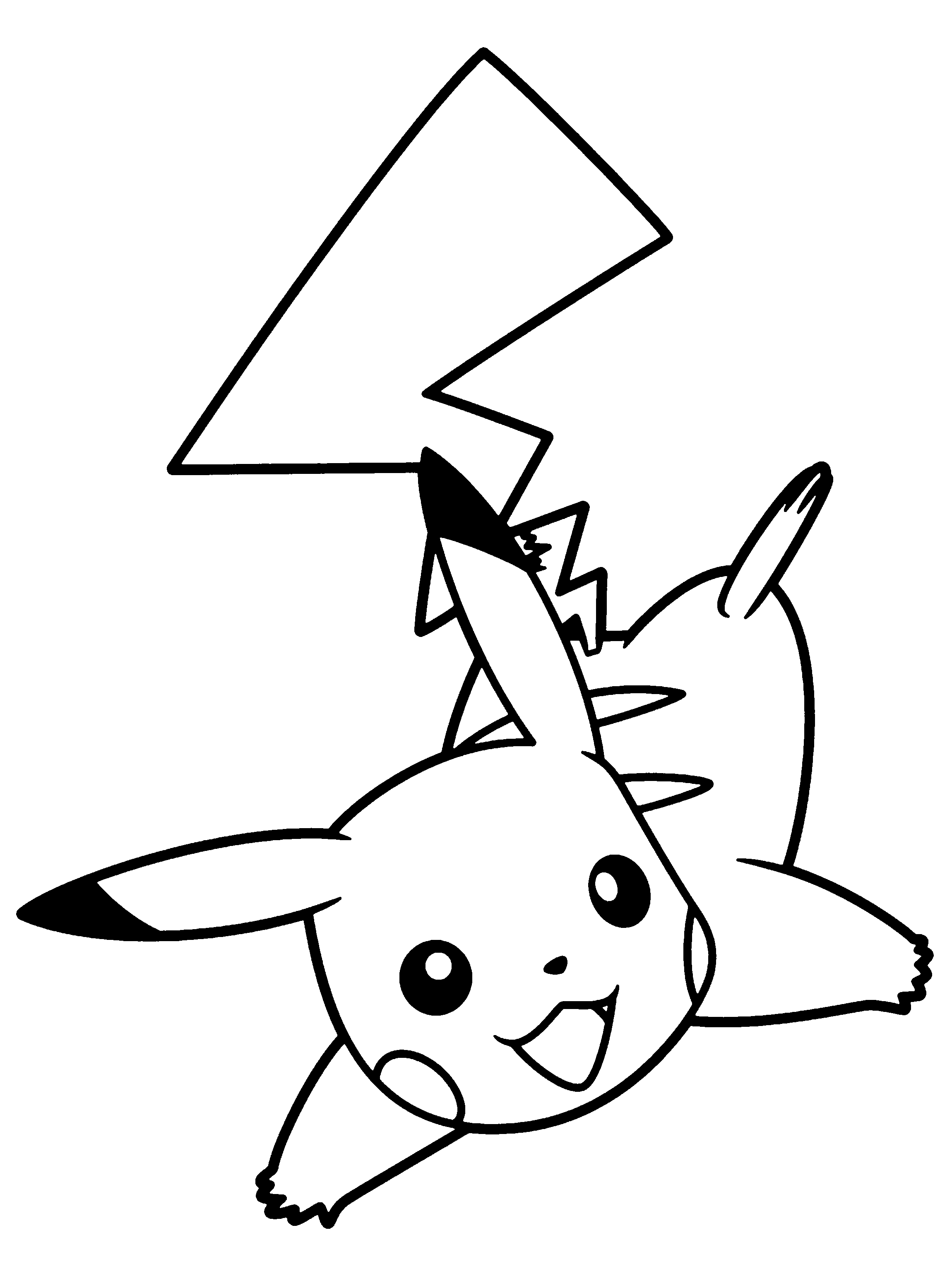 Similiar Black And White Pikachu Keywords.