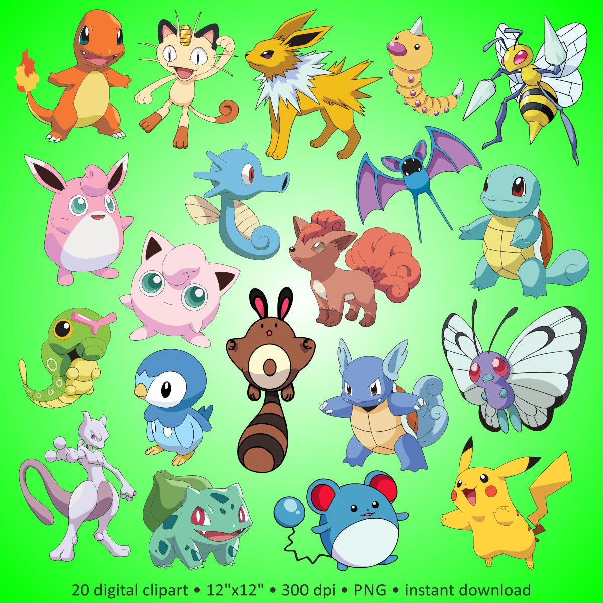 Pokemon And Y Cartoon Characters : Pokemon character clipart clipground