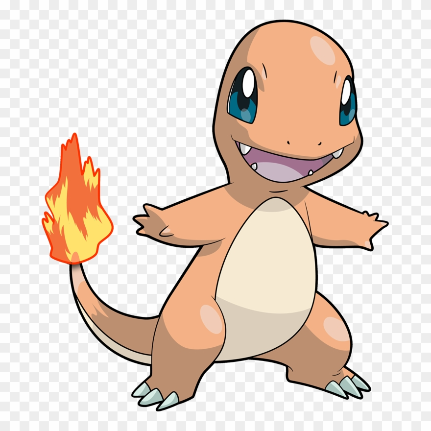 Pokemon Clipart Charmander.