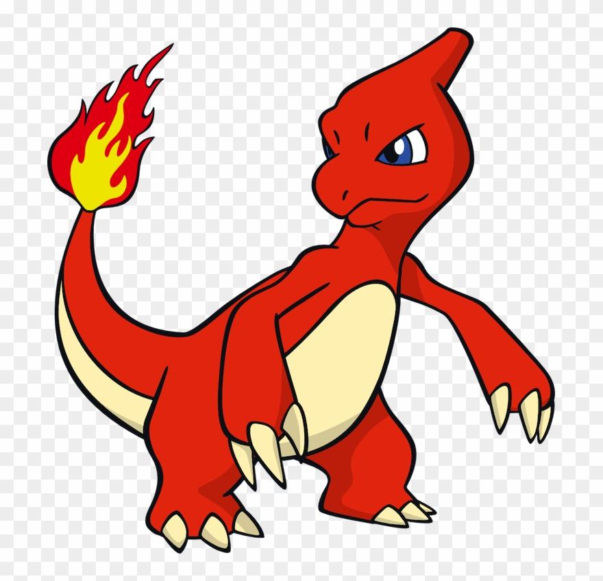 Pokemon Clipart Red Orange.
