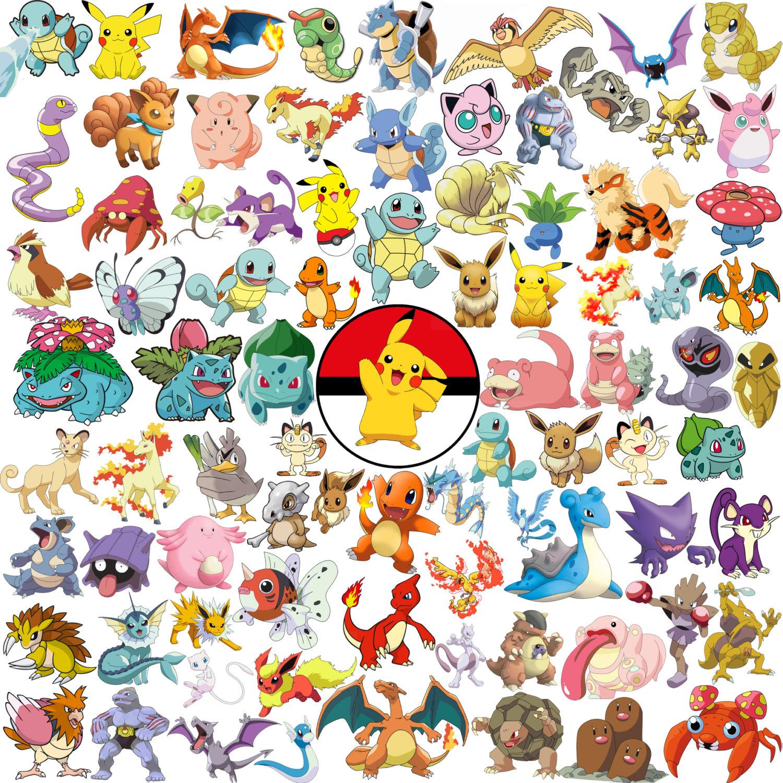 Pokemon clipart pack.