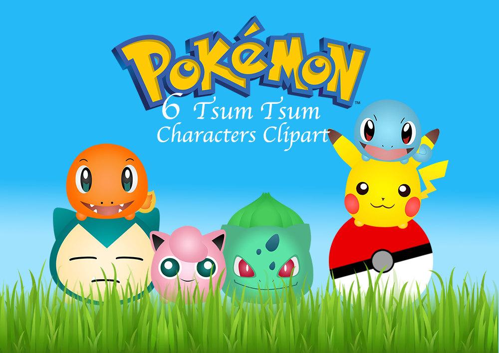 cute pokemon clipart
