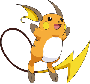 Raichu Pokédex: stats, moves, evolution, locations & other forms.