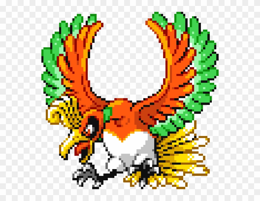 Pokemon Leaf Green Ice Bird.