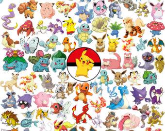 205 Pokemon Clipart Pokemon Go Clipart Pokemon Stickers.