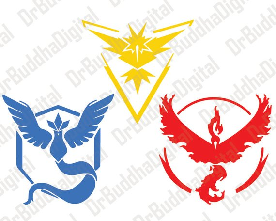 Pokemon Go Inspired SVG Collection.