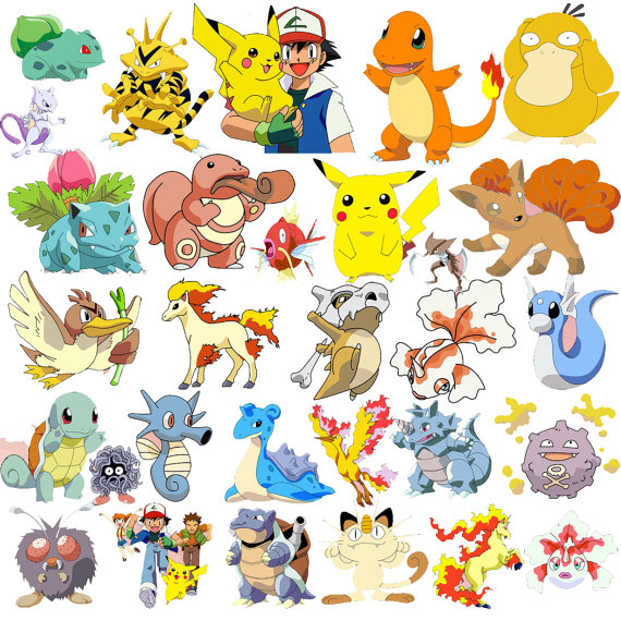 205 Pokemon.