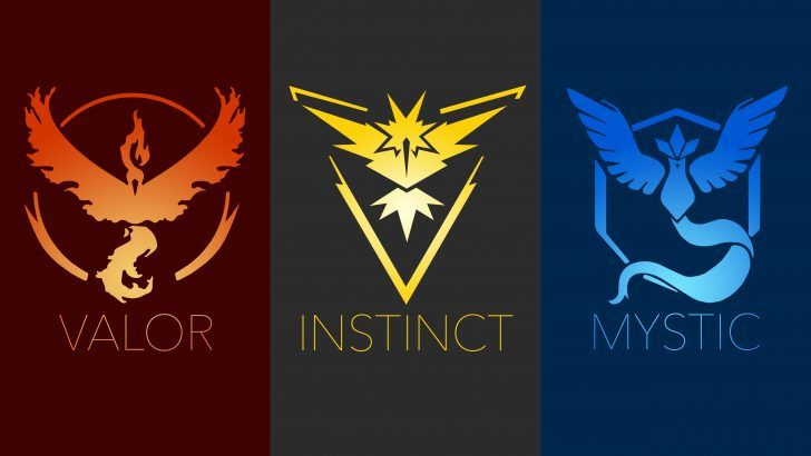 Download Valor Instinct Mystic Team Logo Pokemon Go.