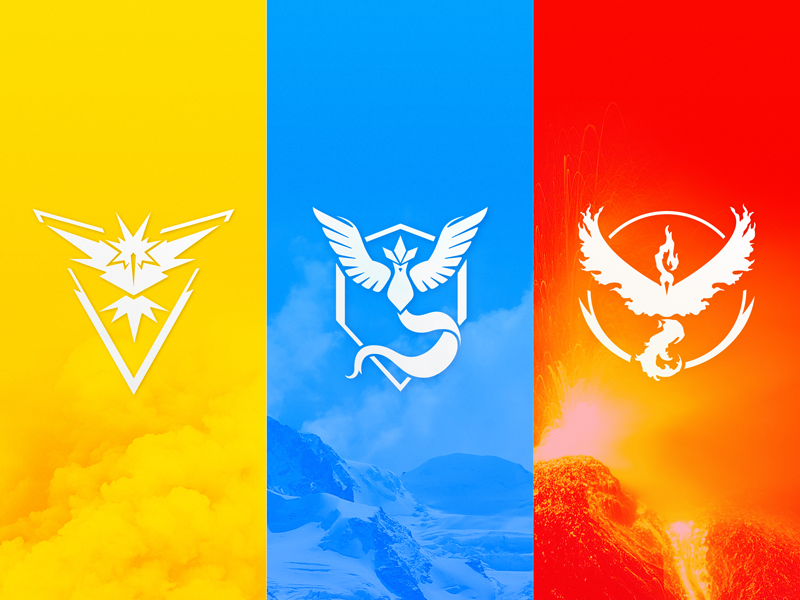 Pokémon GO Team Logos [Vector Download] by Meritt Thomas on.