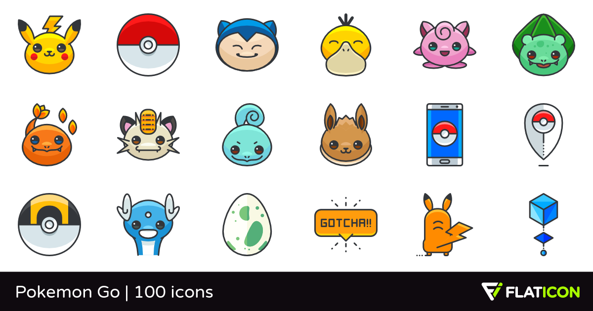 Pokemon icon pack download free clip art with a transparent.