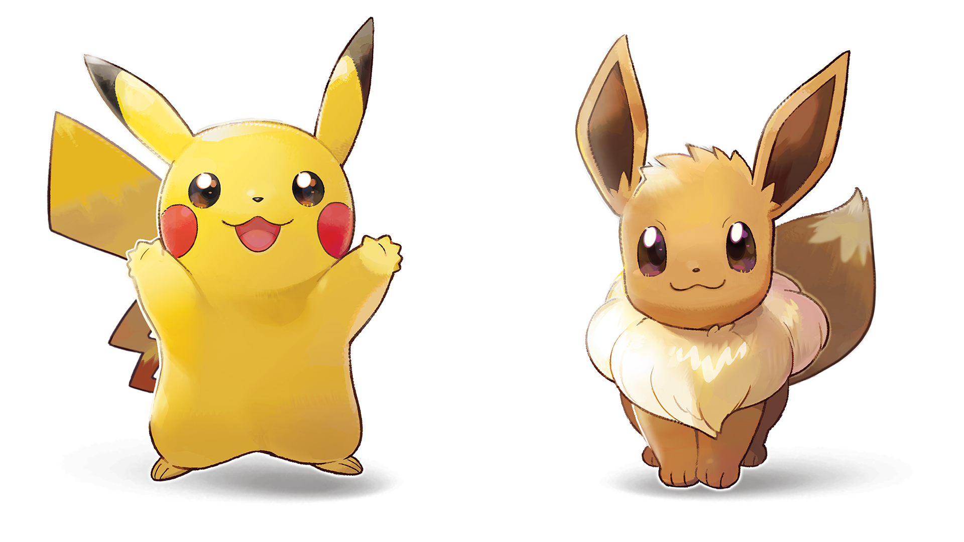 Pokémon: Let\'s Go Pikachu and Let\'s Go Eevee HD Wallpaper.