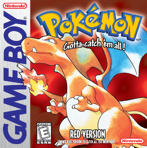 Pokémon Red and Blue.