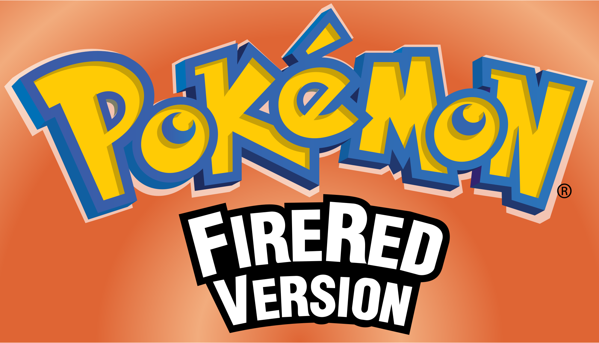 Pokemon fire red logo png 6 » PNG Image.