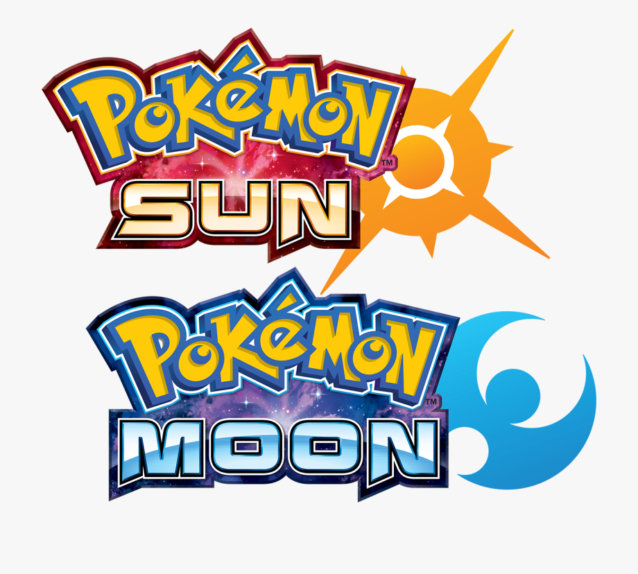 Pokemon Sun And Moon Title , Transparent Cartoon, Free.