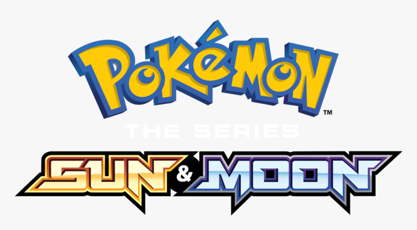 Pokemon Sun And Moon Logo Png, Transparent Png.