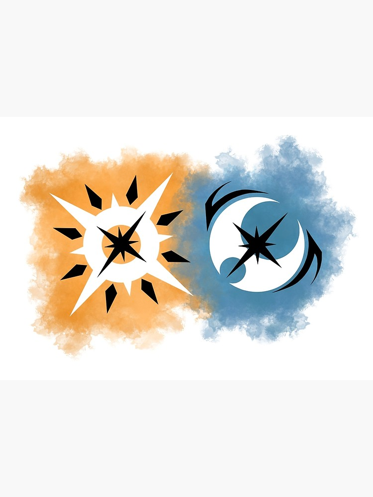Pokemon Ultra Sun and Pokemon Ultra Moon Logo.
