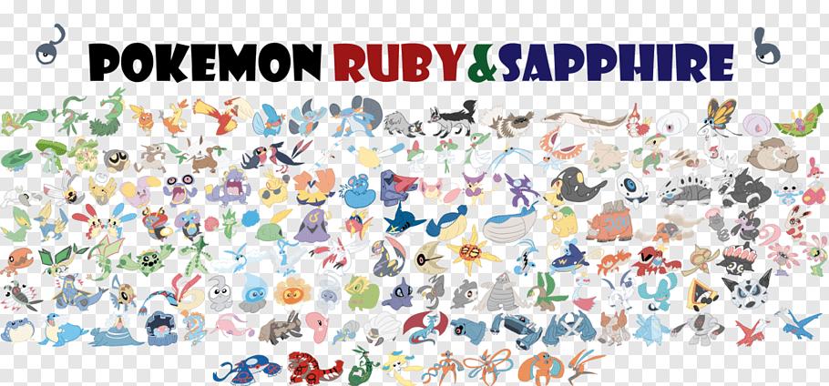 Pokémon Ruby and Sapphire Pokémon Box: Ruby & Sapphire.