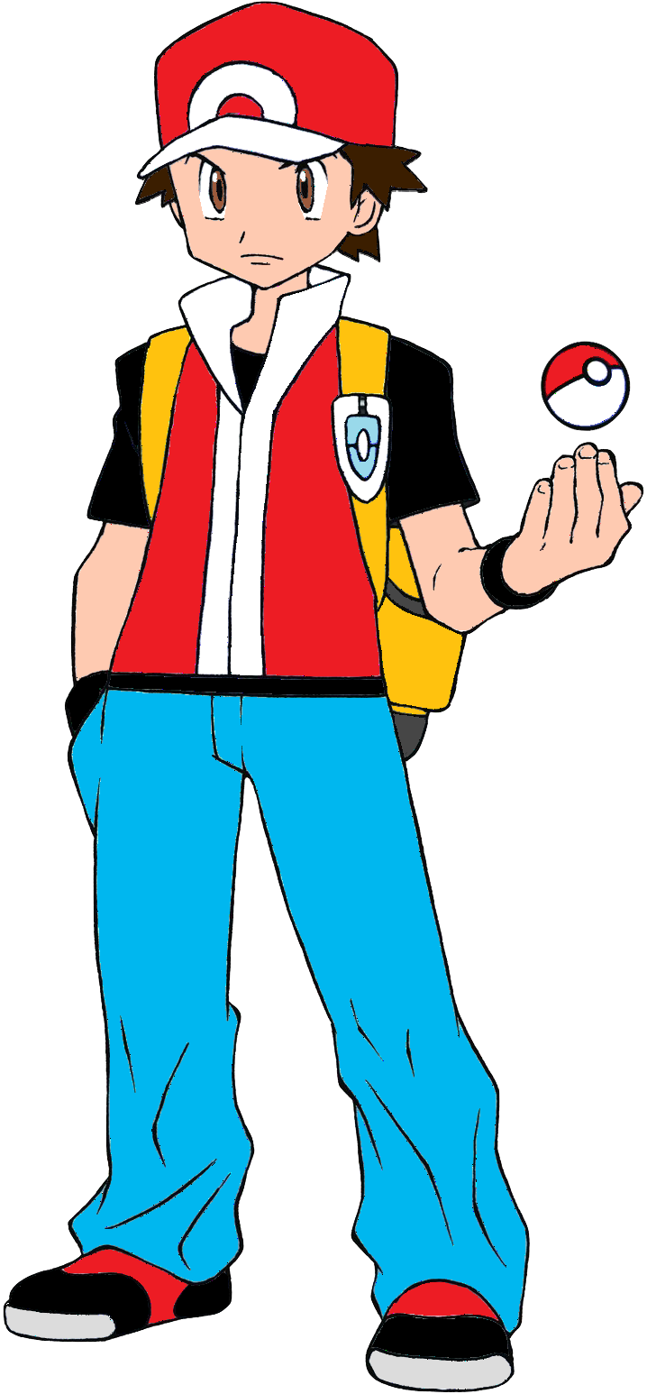 Pokemon Trainer Clipart.