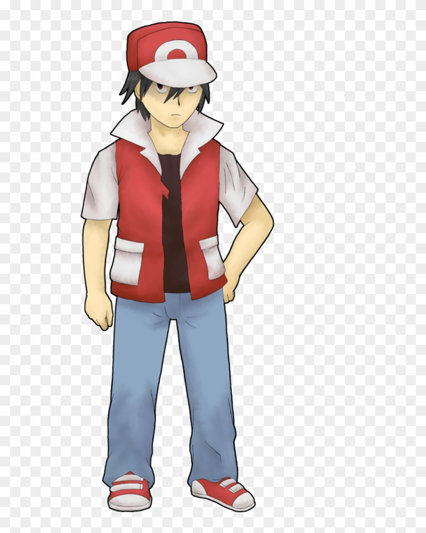 Pokemon Trainer Red Png.