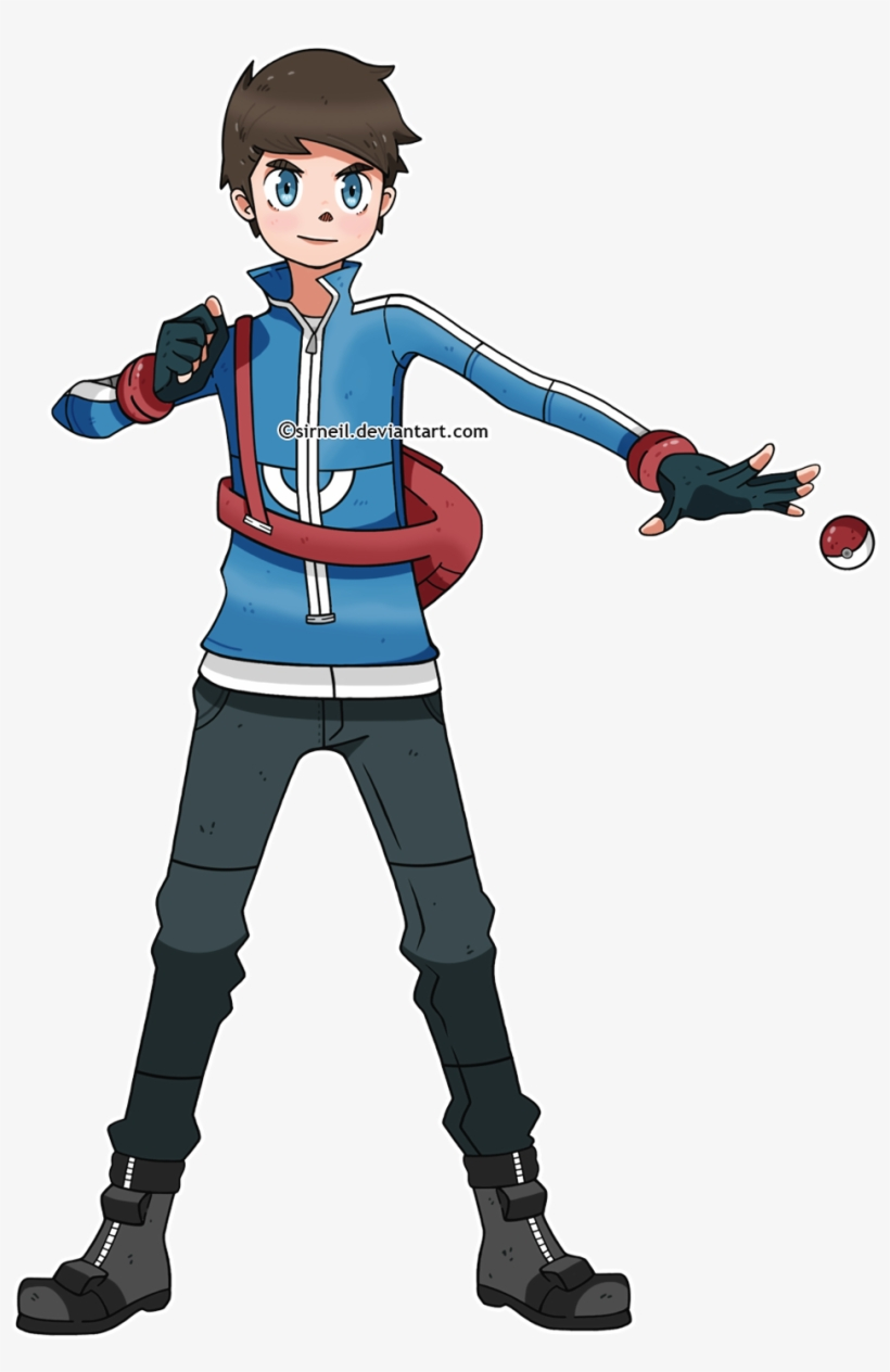 Male Pokemon Trainer By Sirneil.