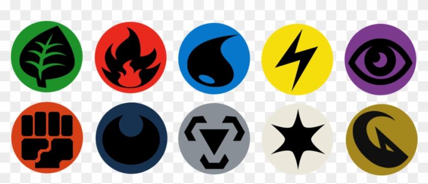 Pokemon Type Symbols Download.