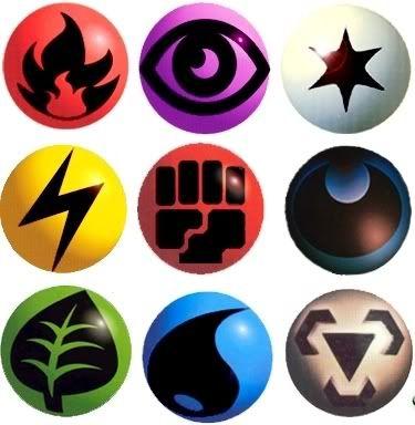 pokemon symbols (card types).