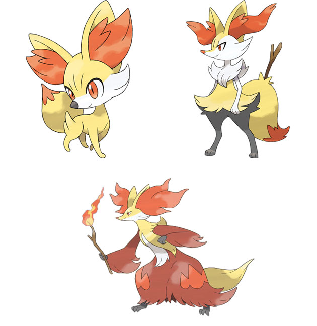 The Best New Pokemon From 'Pokemon X and Y'.