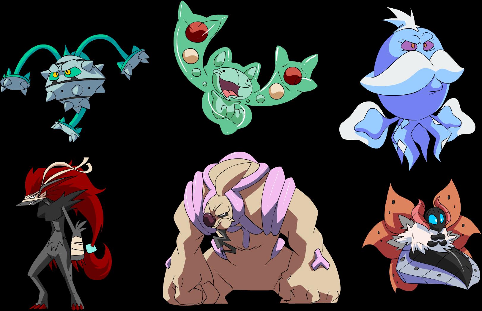 Pokemon X And Y Mega Clipart.