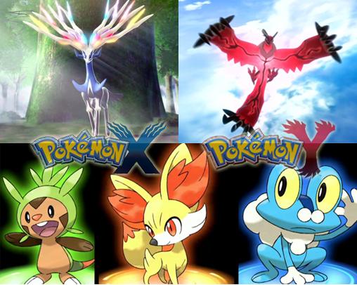 pokemon x and y backrounds.