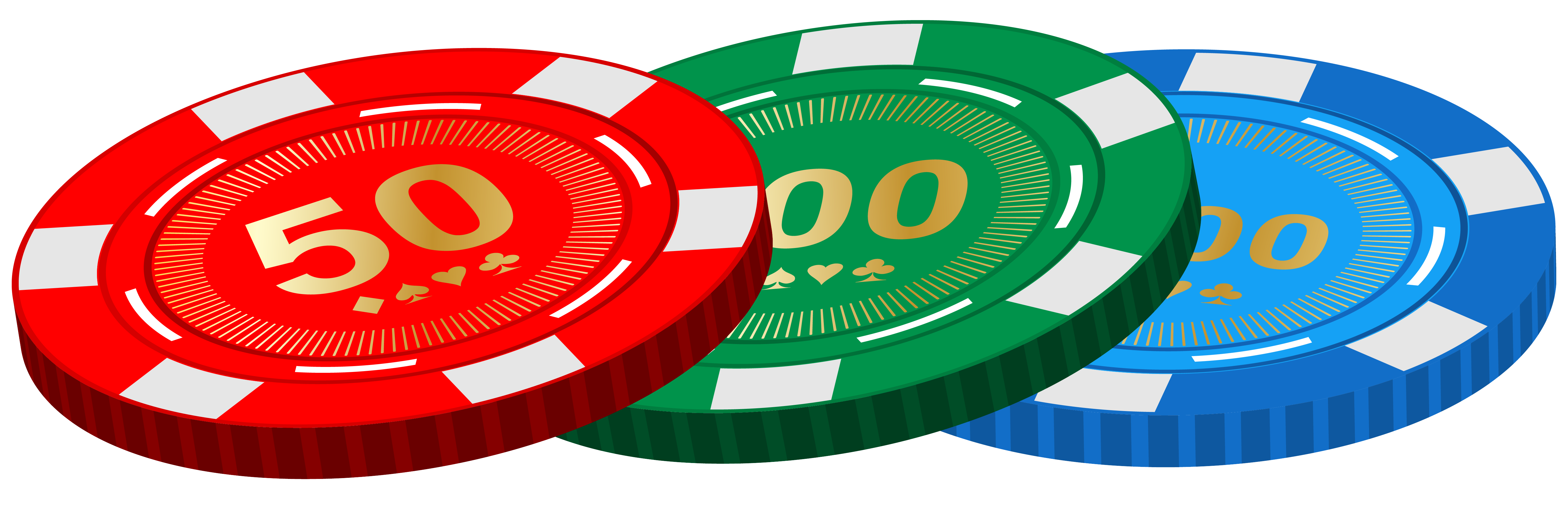 Casino Poker Chips PNG Clipart.