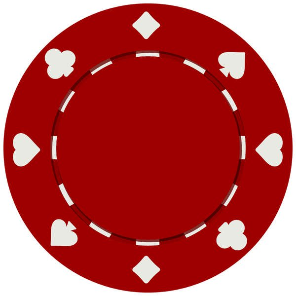 Clay Poker Chip.