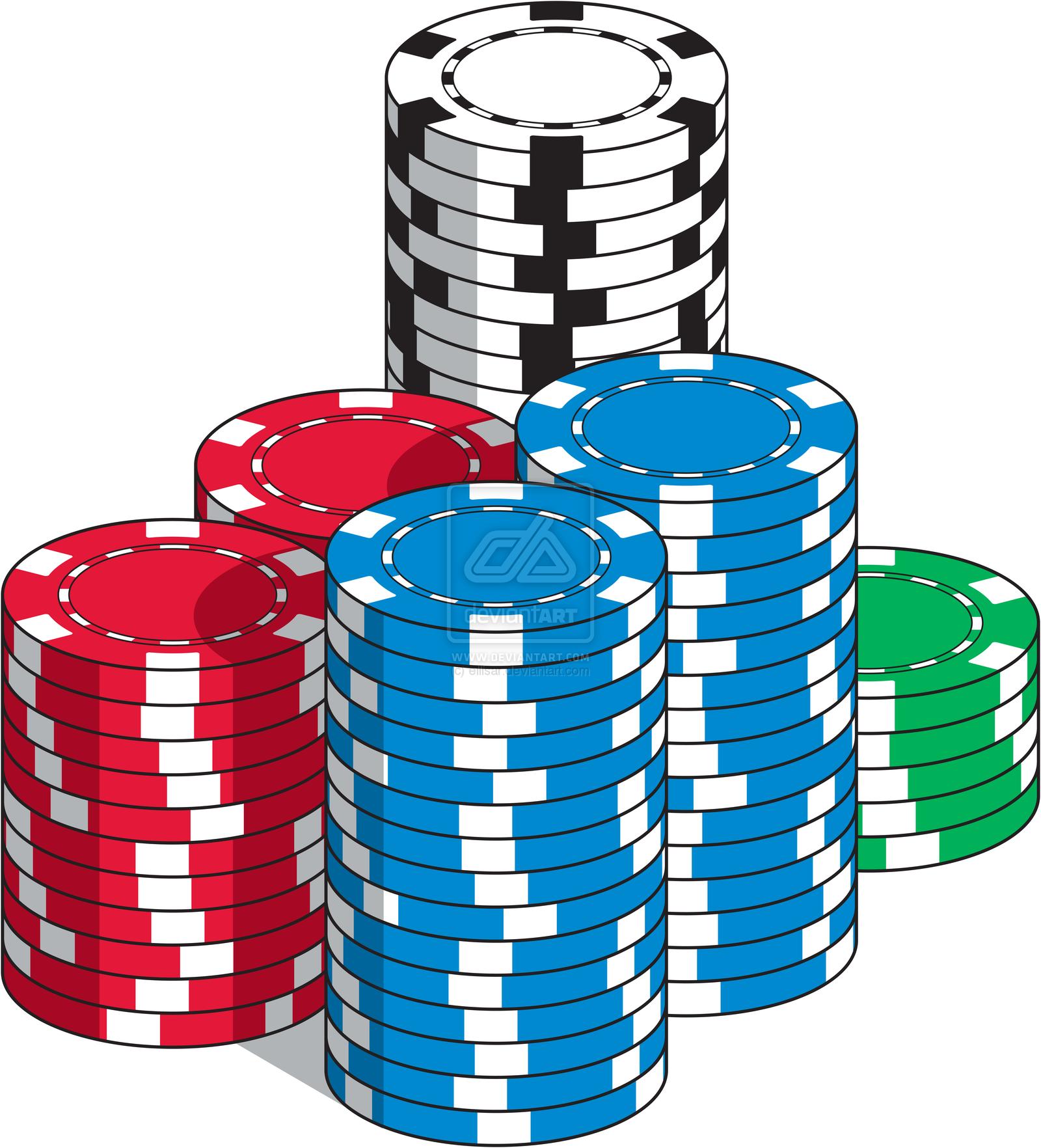 85+ Poker Chip Clip Art.