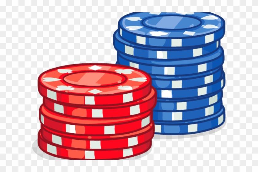 Poker Chips Clipart.