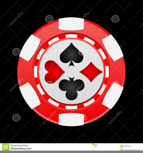 Poker Chips Clipart.