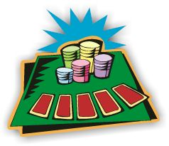 Poker Player Clipart.