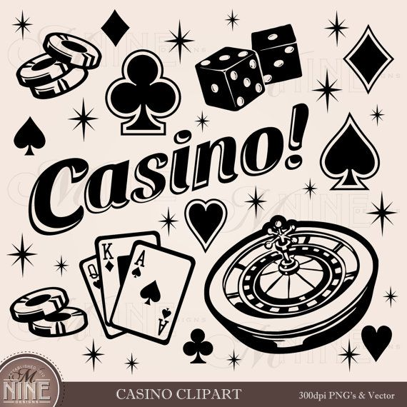 casino night clip art.
