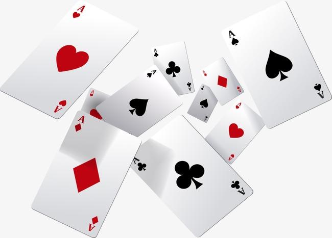 Vector Flying Poker, Flying Poker, Poker #38477.